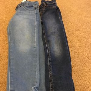 2 pair of girls 4T jeans